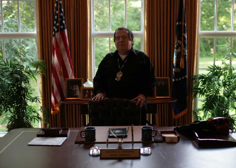 Glynn Crooks, vize chairman of the Shakopee Mdewakanton Sioux