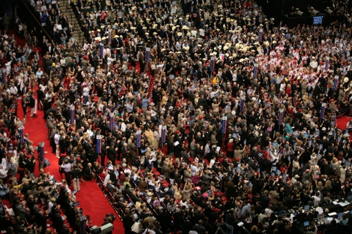 The Republican Convention in St. Paul