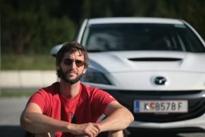 Unterwegs mit dem Mazda 3 MPS: Macht Spaß.