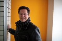 GriffnerHaus-Boss Thomas Lenzinger im Schauraum am Schottenring 10 in Wien