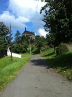 Einer der schönsten Abschnitte der Reise führt durch das böhmische Mittelgebirge