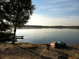 Strandgefühl am Grünewalder Lauch in Brandenburg